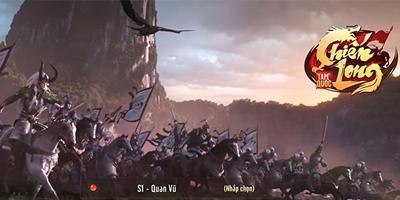 Chiến Long Tam Quốc GOSU có lối chơi tập trung vào yếu tố Quốc chiến, PK thỏa thích