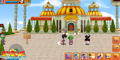 Gọi Rồng Online mang đến nhiều bối cảnh Dragon Ball quen thuộc