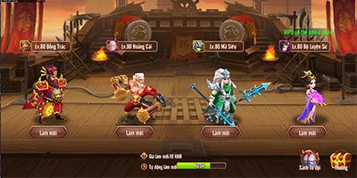 Long Tướng 3Q Mobile cho người chơi PK tranh tài quy mô liên server