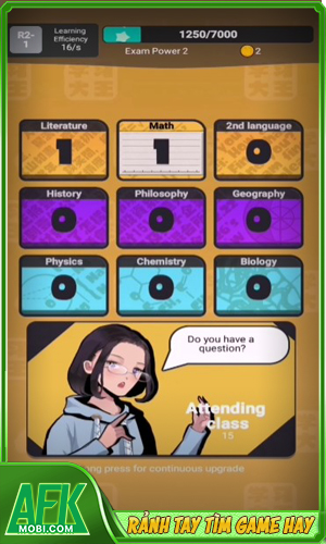 Learning Master: Hight School Girl Puzzle
