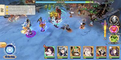 (VI) Game đấu tướng Bách Chiến 3Q cho người chơi tha hồ combo skill khi chiến đấu