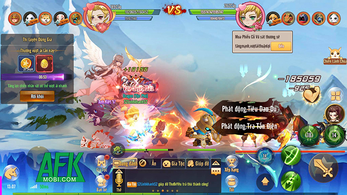 AFKMobi tặng 666 gift code game Liên Minh Mạo Hiểm Mobile 1