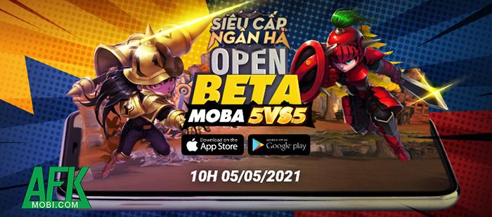 Hyper Rank - Siêu Cấp Ngân Hà: Game MOBA 5vs5 đồ họa vui nhộn về Việt Nam 1