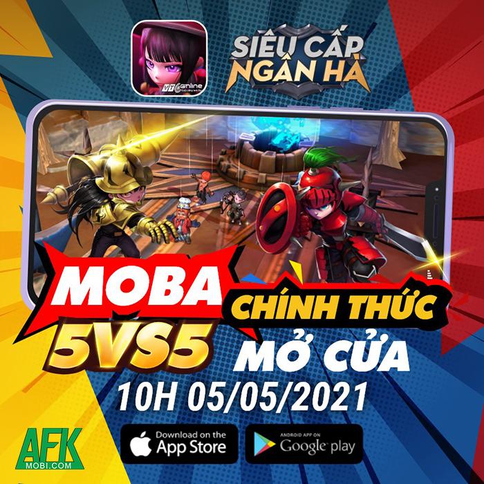 Hyper Rank - Siêu Cấp Ngân Hà: Game MOBA 5vs5 đồ họa vui nhộn về Việt Nam 0