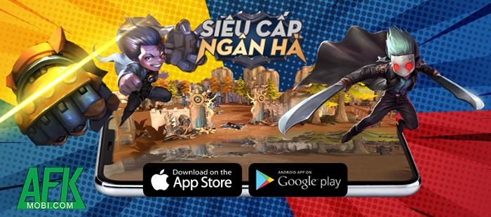Hyper Rank - Siêu Cấp Ngân Hà: Game MOBA 5vs5 đồ họa vui nhộn về Việt Nam 2