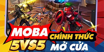 Hyper Rank – Siêu Cấp Ngân Hà: Game MOBA 5vs5 đồ họa vui nhộn về Việt Nam