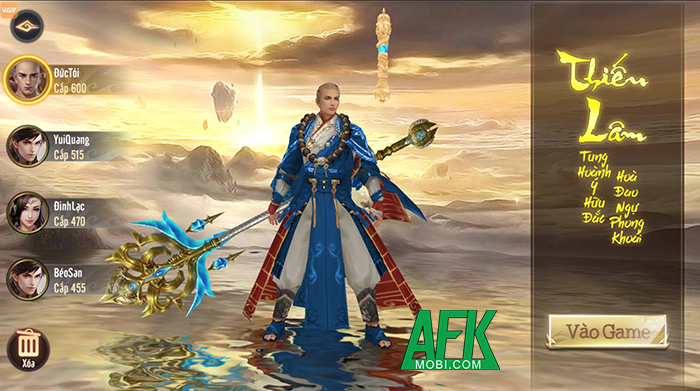 VGP sắp ra mắt game nhập vai mới Thiên Long Kỳ Hiệp Mobile tại Việt Nam 2