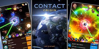 Bảo vệ Trái Đất cùng tựa game idle khoa học viễn tưởng Contact Origin