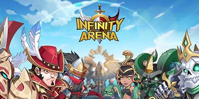 Infinity Arena – Game idle thẻ tướng hoạt hình quy tụ nhiều anh hùng từ truyện tranh, phim ảnh