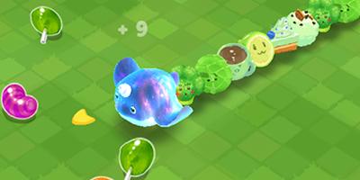 """Cùng chơi """"rắn săn mồi"""" với các bé thú cưng dễ thương trong Sweet Crossing: Snake.io"""