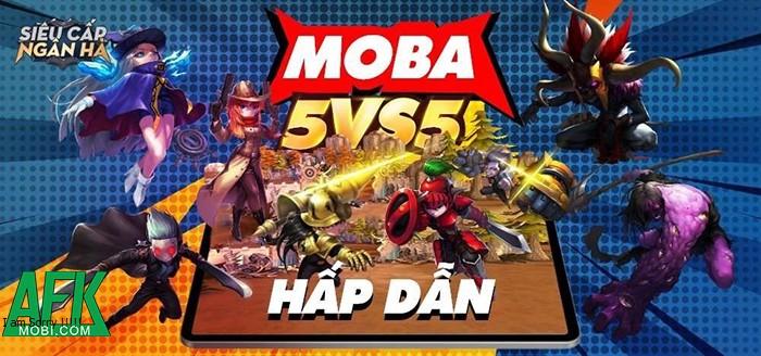 Hyper Rank MOBA
