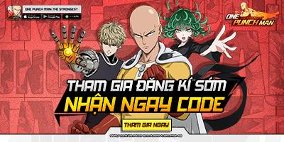 One Punch Man: The Strongest VNG đã cho phép game thủ đăng ký tải trước