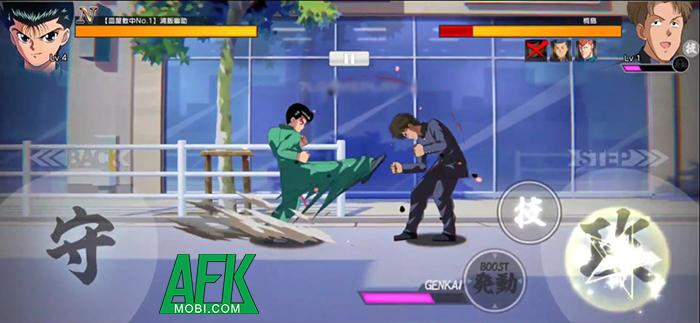 Yu Yu Hakusho GENKAI Battle