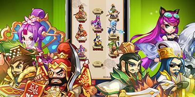 Game Chiu Chiu Tam Quốc sở hữu lối chơi đấu tướng quy mô server vs server