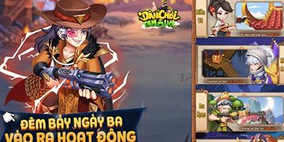 Game Dân Chơi Tam Quốc chiêu đãi người chơi bằng loạt hoạt động cực chất