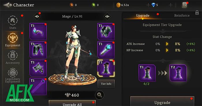 Dark Fantasy: Game idle hành động đồ họa 3D cực hấp dẫn cho game thủ 4