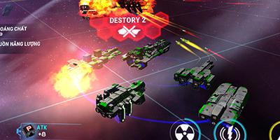 Starship Battle: Tựa game chiến thuật chinh phục không gian đầy hấp dẫn