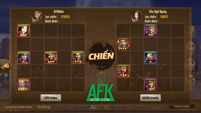 Tam Quốc Đại Chiến Mobile có lối chơi đấu tướng đơn giản đi kèm lớp đồ họa 3D đẹp mắt 3