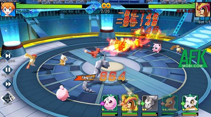 Top 8 game mobile dành riêng cho tín đồ Pokémon Việt Nam 6
