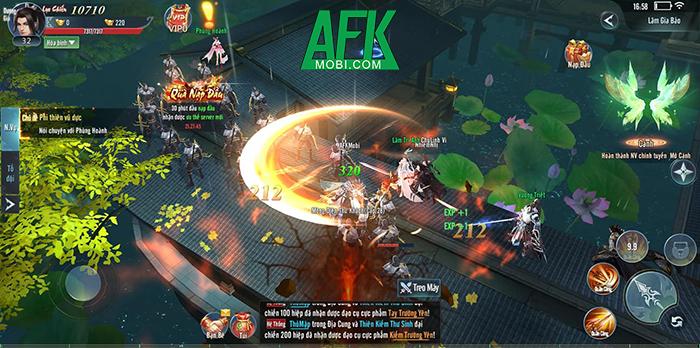 Võ Lâm Kỳ Hiệp Gamota cho người chơi tự mình hóa thân thành các anh hùng hào kiệt trong vũ trụ Kim Dung 2