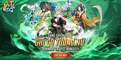 Đại Tỷ 3Q Mobile: Game toàn tướng nữ về Việt Nam