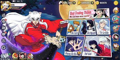 Game Khuyển Dạ Xoa Truyền Kỳ mang đến chất chơi hành động, sưu tầm thẻ tướng cực đã!