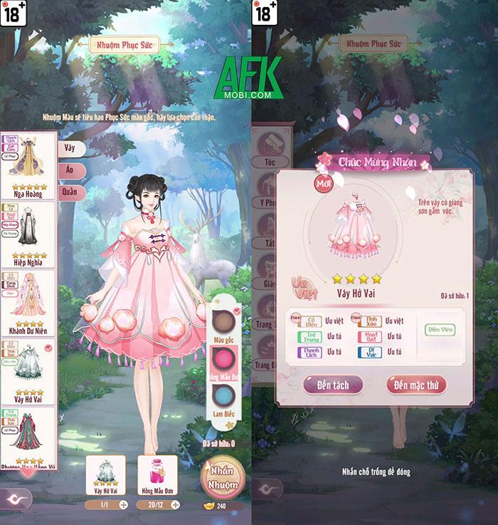 AFKMobi tặng 333 gift code game Phượng Hoàng Cẩm Tú Funtap 2
