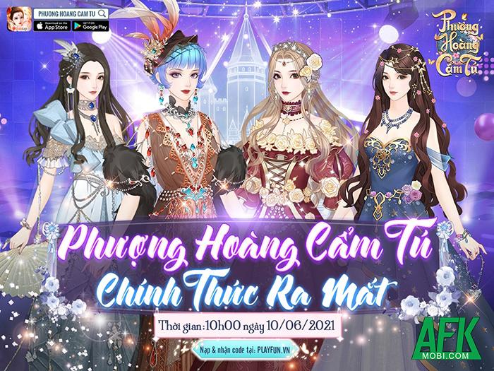 AFKMobi tặng 333 gift code game Phượng Hoàng Cẩm Tú Funtap 1