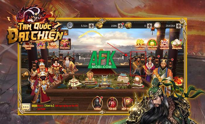 AFKMobi tặng nhiều gift code game Tam Quốc Đại Chiến Mobile 0