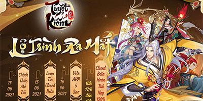Tuyệt Kiếm Cổ Phong công bố lộ trình ra mắt: Chốt hạ Closed Beta ngày 17/6, chính thức mở tải hôm nay!