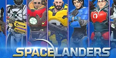 Spacelanders – Game bắn súng đi cảnh lấy bối cảnh tương lai cực hiện đại