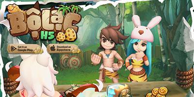 Game đấu thú tiền sử Bộ Lạc H5 Online cho người chơi cày cùng lúc 3 nhân vật chính