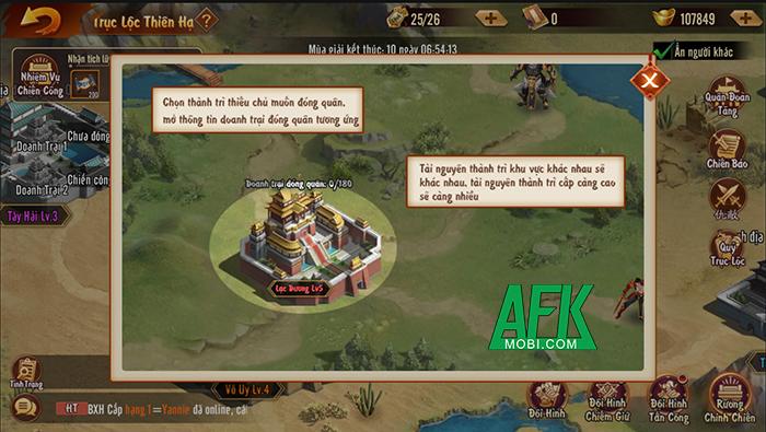 Trận Trục Lộc Thiên Hạ được tái hiện hoành tráng trong game đấu tướng Tân OMG3Q VNG 2