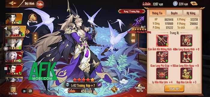 Trận Trục Lộc Thiên Hạ được tái hiện hoành tráng trong game đấu tướng Tân OMG3Q VNG 0