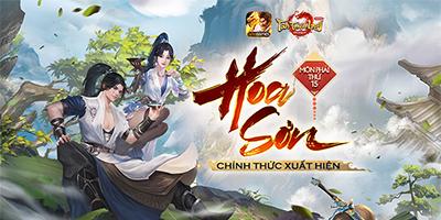 Tân Thiên Long Mobile VNG ra mắt môn phái thứ 15 Hoa Sơn