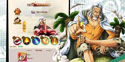 Game One Piece – Thức Tỉnh Haki MIGA ra mắt tướng mới Silvers Rayleigh