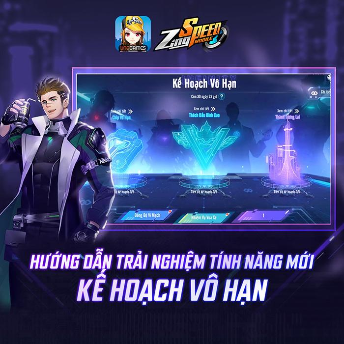 Bạn đã chinh phục đường đua Kế Hoạch Vô Hạn trong ZingSpeed Mobile chưa?! 1