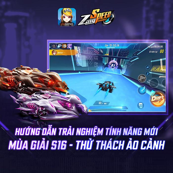 Bạn đã chinh phục đường đua Kế Hoạch Vô Hạn trong ZingSpeed Mobile chưa?! 2
