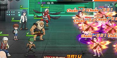 Các đội hình mạnh nhất cho tân thủ giai đoạn đầu trong One Punch Man: The Strongest VNG