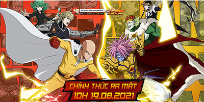 AFKMobi tặng nhiều gift code game One Punch Man: The Strongest VNG giá trị