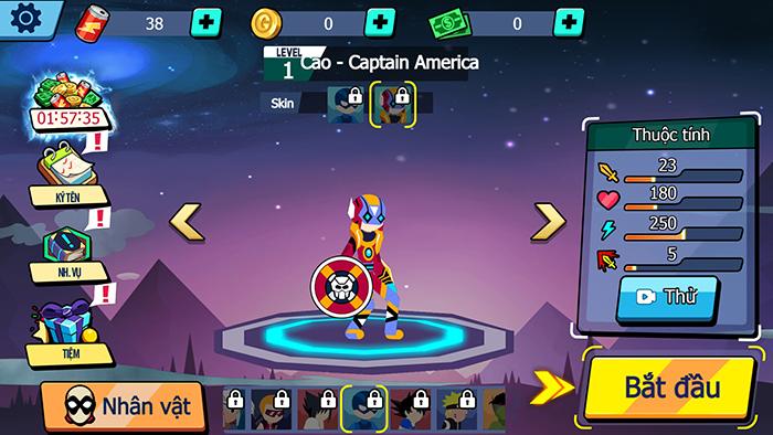 Stickman Fighter Infinity H5