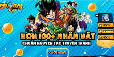 Siêu Xayda Online: Cuộc Chiến Vũ Trụ – Game Dragon Ball thế hệ mới về Việt Nam