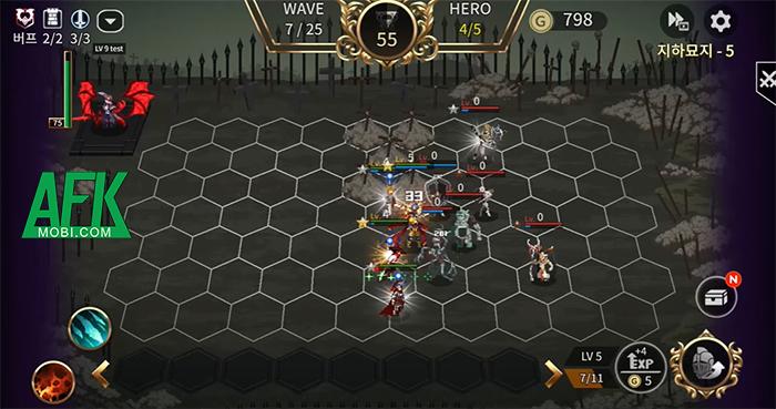 Heroic Tactics : DOT Casual Defense game cờ nhân phẩm đồ họa pixel đầy tính hoài cổ 2