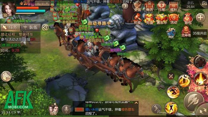 Khám phá Tuyệt Thế Vô Song Mobile game tiên hiệp đến từ cha đẻ Tân Thiên Long Mobile 5