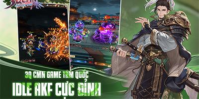 Tại sao 3Q CMN – Chơi Mệt Nghỉ lại hút fan game idle vào tham gia?