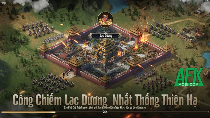 Trở thành chiến lược gia quân sự nhà nghề trong game Chiến Vương Tam Quốc 7