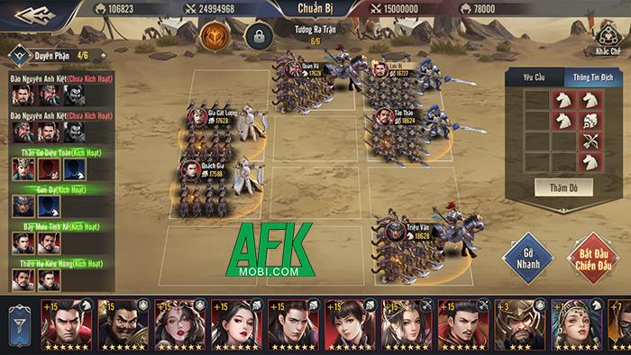 Trở thành chiến lược gia quân sự nhà nghề trong game Chiến Vương Tam Quốc 3