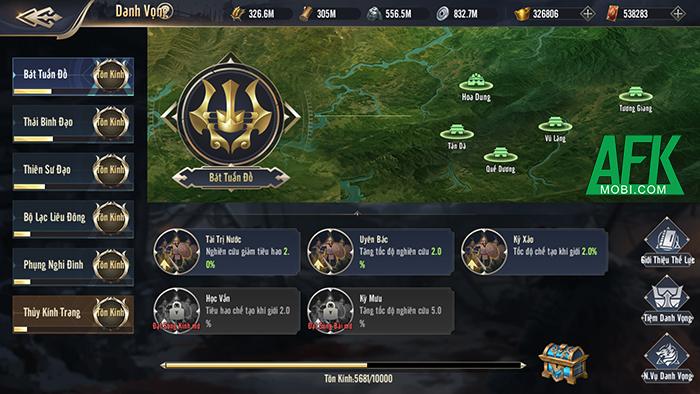 Trở thành chiến lược gia quân sự nhà nghề trong game Chiến Vương Tam Quốc 4