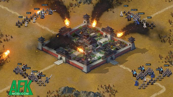 Trở thành chiến lược gia quân sự nhà nghề trong game Chiến Vương Tam Quốc 2