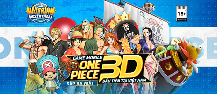 Hải Trình Huyền Thoại game One Piece 3D đầu tiên tại Việt Nam sắp đến tay người chơi 0